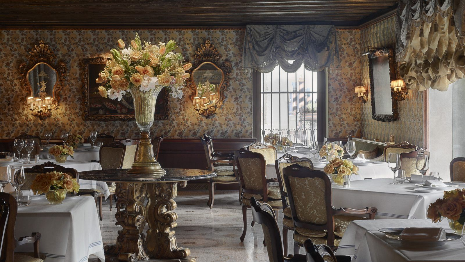 Club del doge restaurant the gritti palace a luxury for Design hotel venise