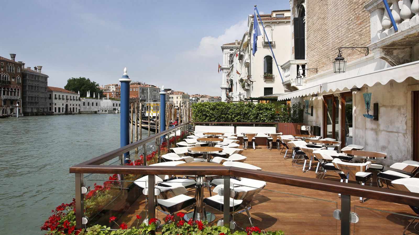Riva Lounge Grand Canal terrace at The Gritti Palace