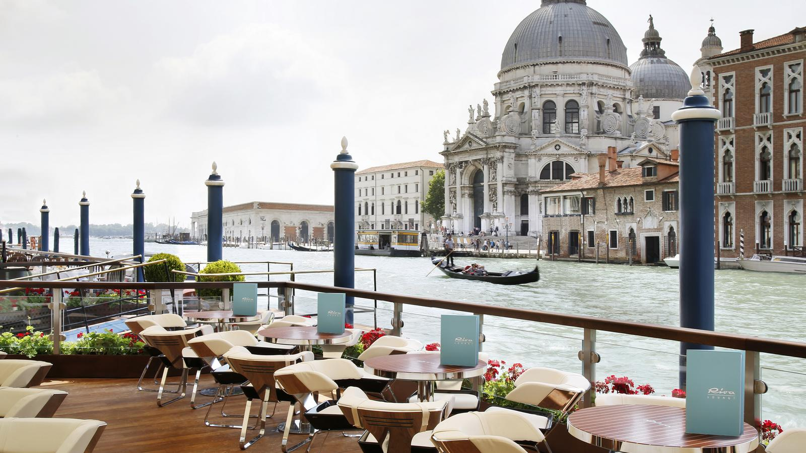 The Riva Club terrasse au Gritti Palace à Venise