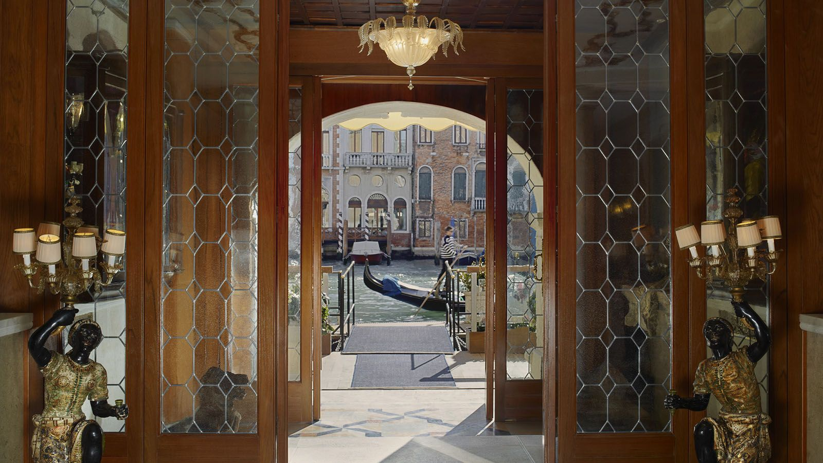 The Gritti Palace private water entrance