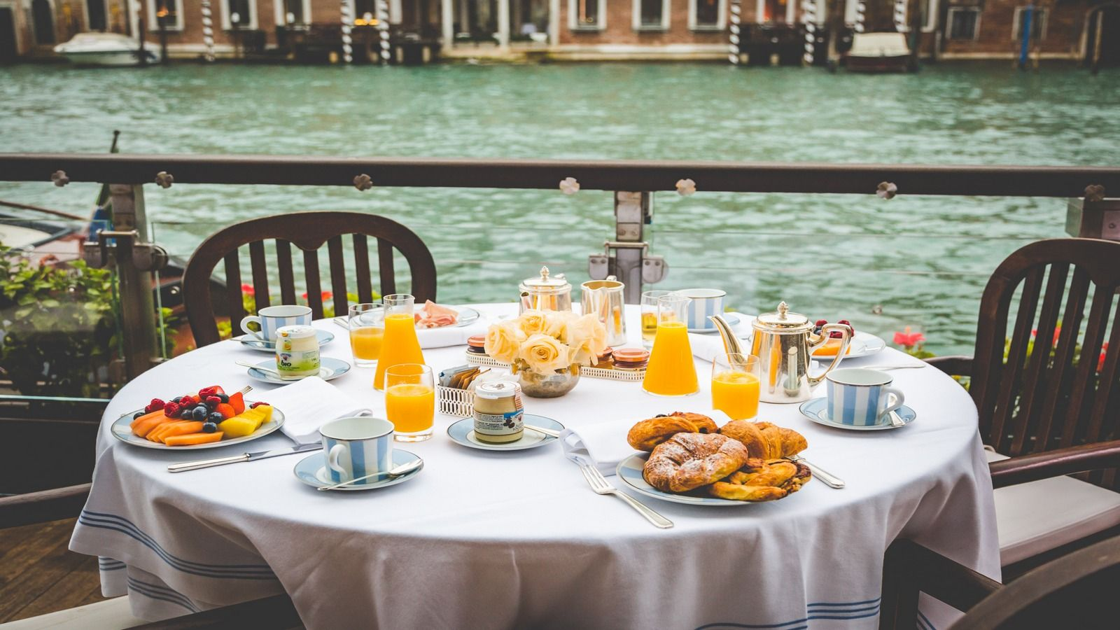 The Gritti Palace Breakfast