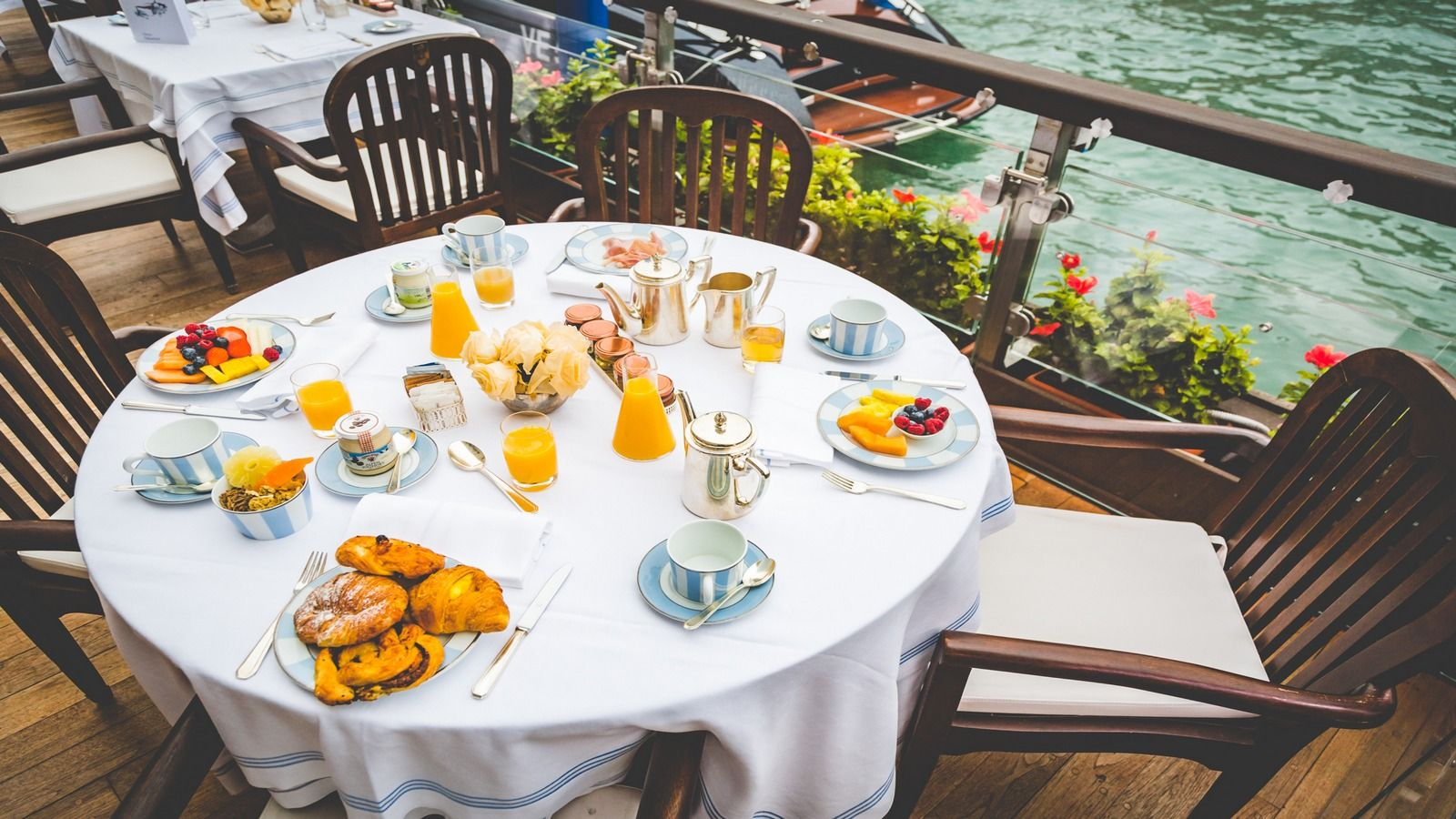 The Gritti Palace Italian Breakfast