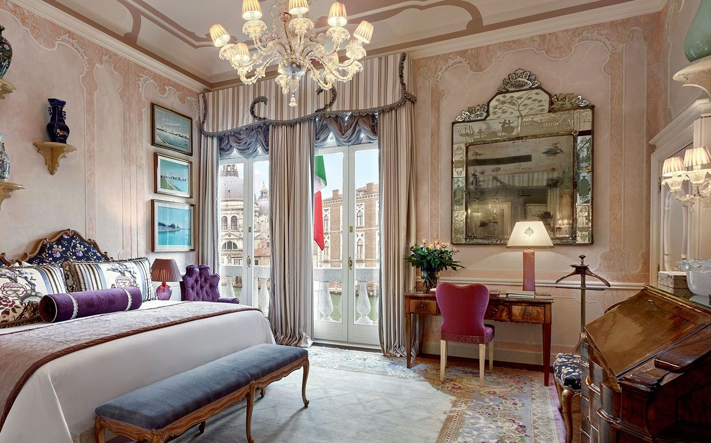 Somerset Maugham Royal Suite, The Gritti Palace, Venice